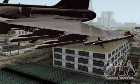 JAS-39 Gripen NG ACAH para GTA San Andreas vista direita