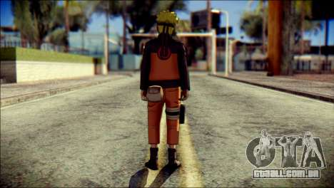 Naruto Skin para GTA San Andreas segunda tela