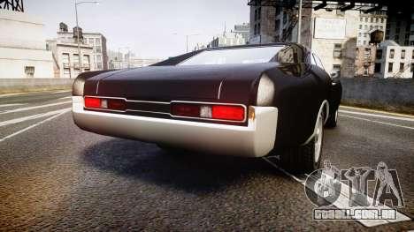 Imponte Dukes Fast and Furious Style para GTA 4 traseira esquerda vista