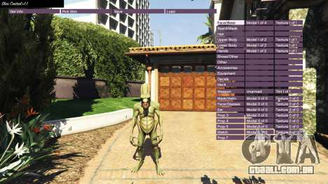 GTA 5 Skin Control v1.1 segundo screenshot