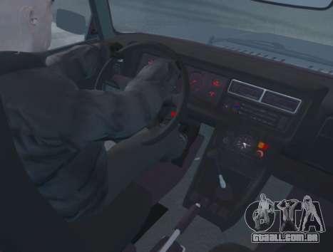 VAZ 2107 de Drenagem para GTA 4 vista direita