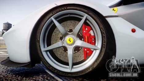 Ferrari LaFerrari 2013 HQ [EPM] para GTA 4 vista de volta