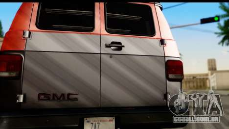 GMC Vandura G-1500 Payday 2 para GTA San Andreas vista direita