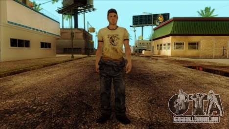 Ellis from Left 4 Dead 2 para GTA San Andreas
