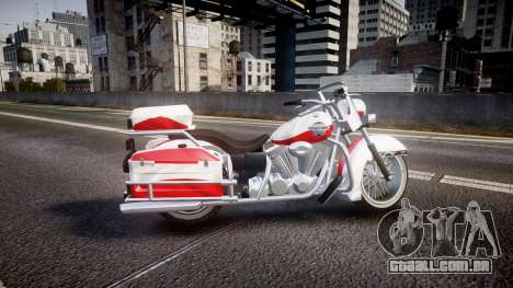 GTA V Western Motorcycle Company Sovereign POL para GTA 4 esquerda vista