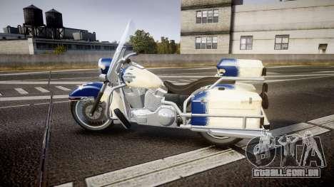 GTA V Western Motorcycle Company Sovereign QC para GTA 4 esquerda vista