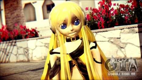 Lilly from Vocaloid para GTA San Andreas terceira tela