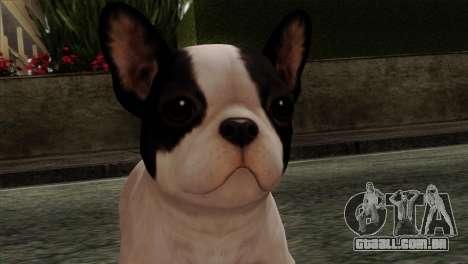 French Bulldog para GTA San Andreas terceira tela