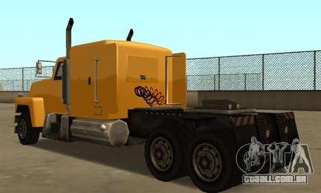 PS2 Tanker para GTA San Andreas vista direita