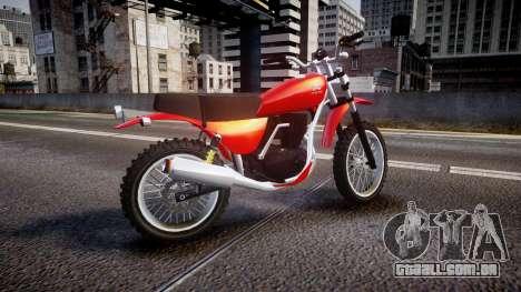 GTA V Dinka Enduro para GTA 4 esquerda vista