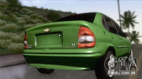 Chevrolet Corsa Classic 2009 para GTA San Andreas esquerda vista