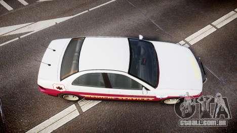 Dinka Chavos Paramedic para GTA 4 vista direita