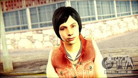 Sofia Child Skin para GTA San Andreas terceira tela