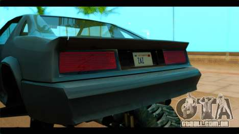 Monster Buffalo para GTA San Andreas vista traseira