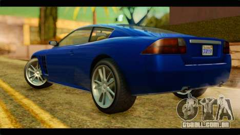 GTA 5 Ocelot F620 para GTA San Andreas esquerda vista