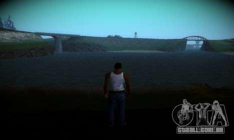 Ebin 7 ENB para GTA San Andreas segunda tela