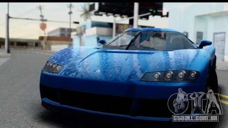 GTA 5 Overflod Entity XF IVF para GTA San Andreas traseira esquerda vista