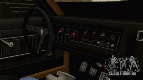 GTA 5 Imponte Dukes ODeath HQLM para GTA San Andreas vista direita