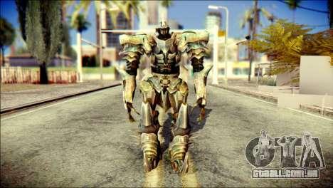 Grimlock Skin from Transformers para GTA San Andreas