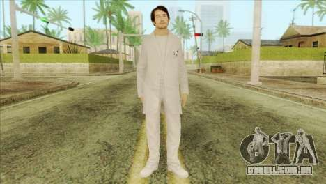 Takedown Redsabre NPC Scientist para GTA San Andreas