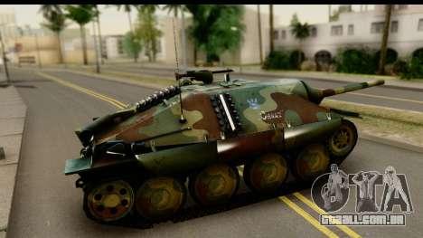 Jagdpanzer 38(t) Hetzer Chwat para GTA San Andreas esquerda vista