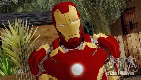 Iron Man Mark 43 Svengers 2 para GTA San Andreas terceira tela