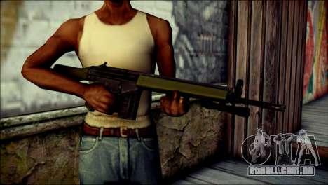 HK G3 Flashlight para GTA San Andreas terceira tela