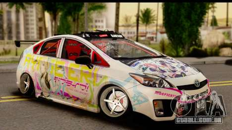 Toyota Prius Hybrid Eri Ayase Love Live Itasha para GTA San Andreas