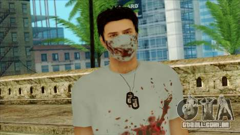 ER Alex Shepherd Skin without Flashlight para GTA San Andreas terceira tela