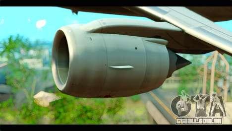 Embraer 190 Lion Air para GTA San Andreas vista direita