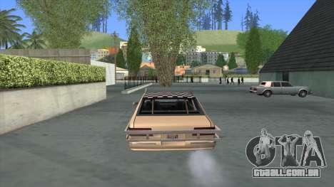 Bloodring Premier para GTA San Andreas traseira esquerda vista