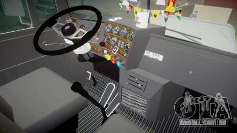 Mack R700 para GTA 4 vista de volta