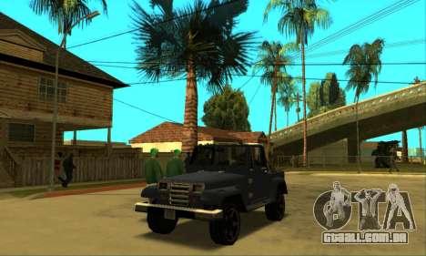 Mesa Final para GTA San Andreas vista interior
