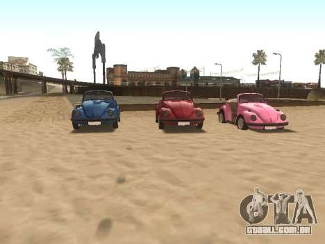 Volkswagen Beetle 1984 para as rodas de GTA San Andreas