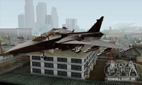 JAS-39 Gripen NG ACAH para GTA San Andreas