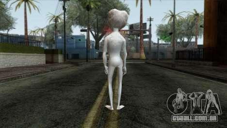 Zeta Reticoli Alien Skin from Area 51 Game para GTA San Andreas segunda tela