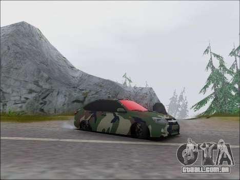 Lada Granta Liftback Coupe para GTA San Andreas esquerda vista