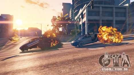 GTA 5 O enfraquecimento do veículo terceiro screenshot