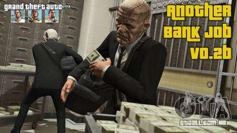 Assalto a banco v0.2b para GTA 5