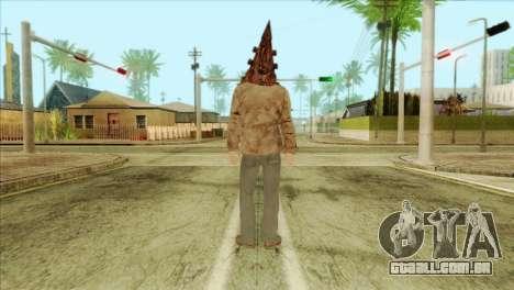 Bogeyman Alex Shepherd Skin without Flashlight para GTA San Andreas segunda tela