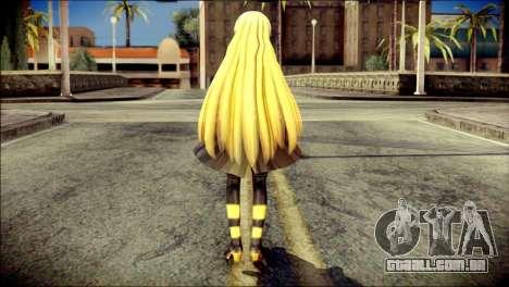 Lilly from Vocaloid para GTA San Andreas segunda tela