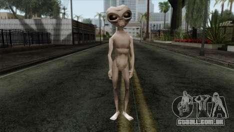 Zeta Reticoli Alien Skin from Area 51 Game para GTA San Andreas