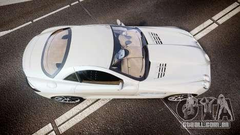 Mercedes-Benz McLaren SLR 2005 [EPM] para GTA 4 vista direita