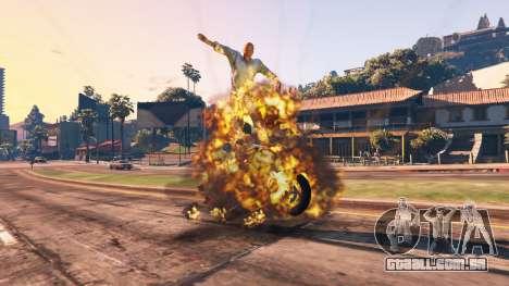 GTA 5 O enfraquecimento do veículo quinta imagem de tela