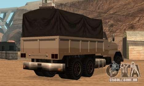 Barracks Fixed para GTA San Andreas vista traseira