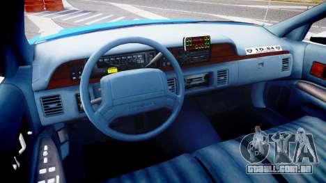 Chevrolet Caprice 1994 LCPD Patrol [ELS] para GTA 4 vista de volta