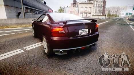 GTA V Bollokan Prairie para GTA 4 traseira esquerda vista