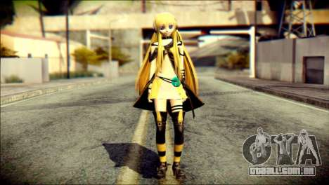 Lilly from Vocaloid para GTA San Andreas