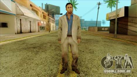Nick from Left 4 Dead 2 para GTA San Andreas