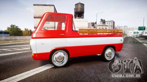 Dodge A100 Pickup 1964 para GTA 4 esquerda vista